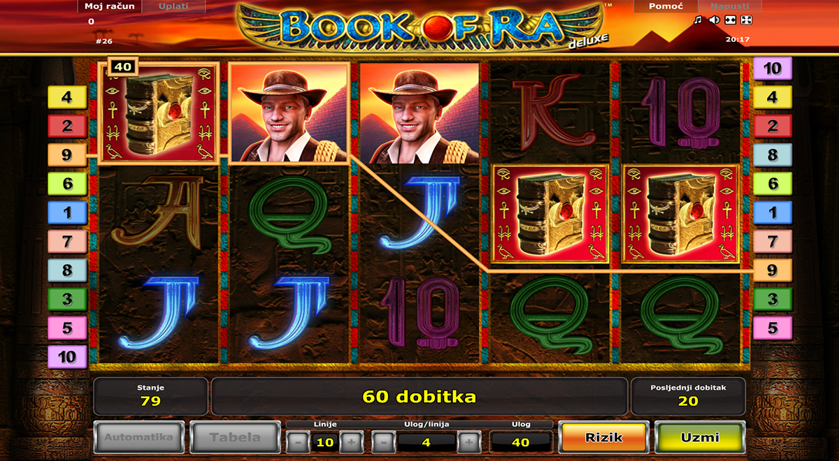 book of ra online playing