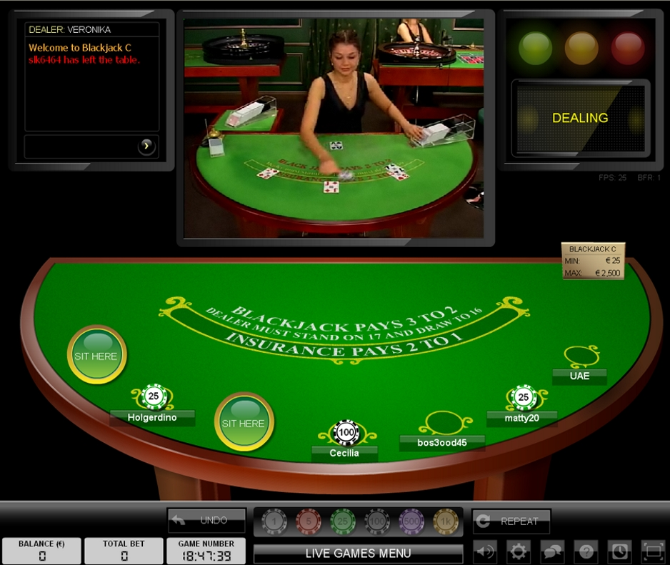 live online casino the gaming wizard