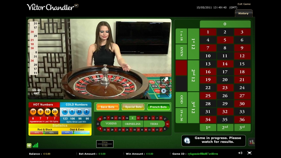 classic roulette online