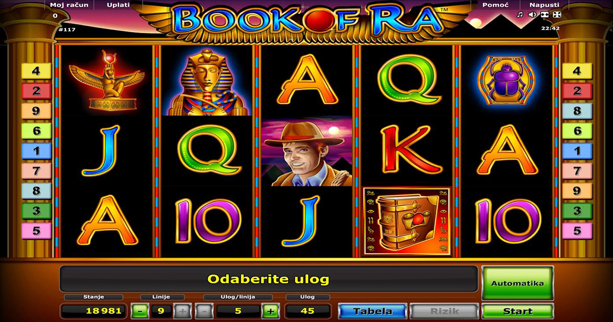book of ra casino igre