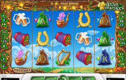 Golden Shamrock Irska slot igra