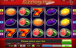 novomatic online casino sizzling hot.com