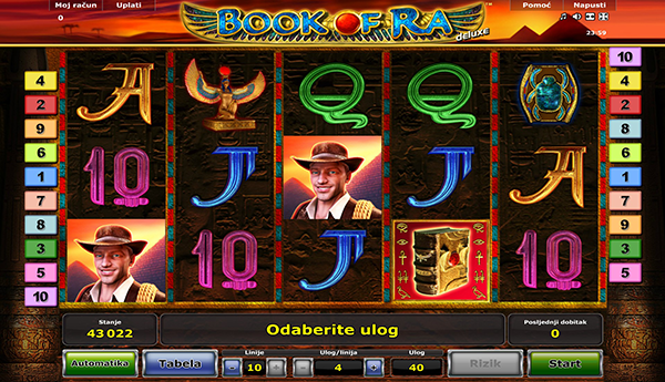 book of ra slot igrice
